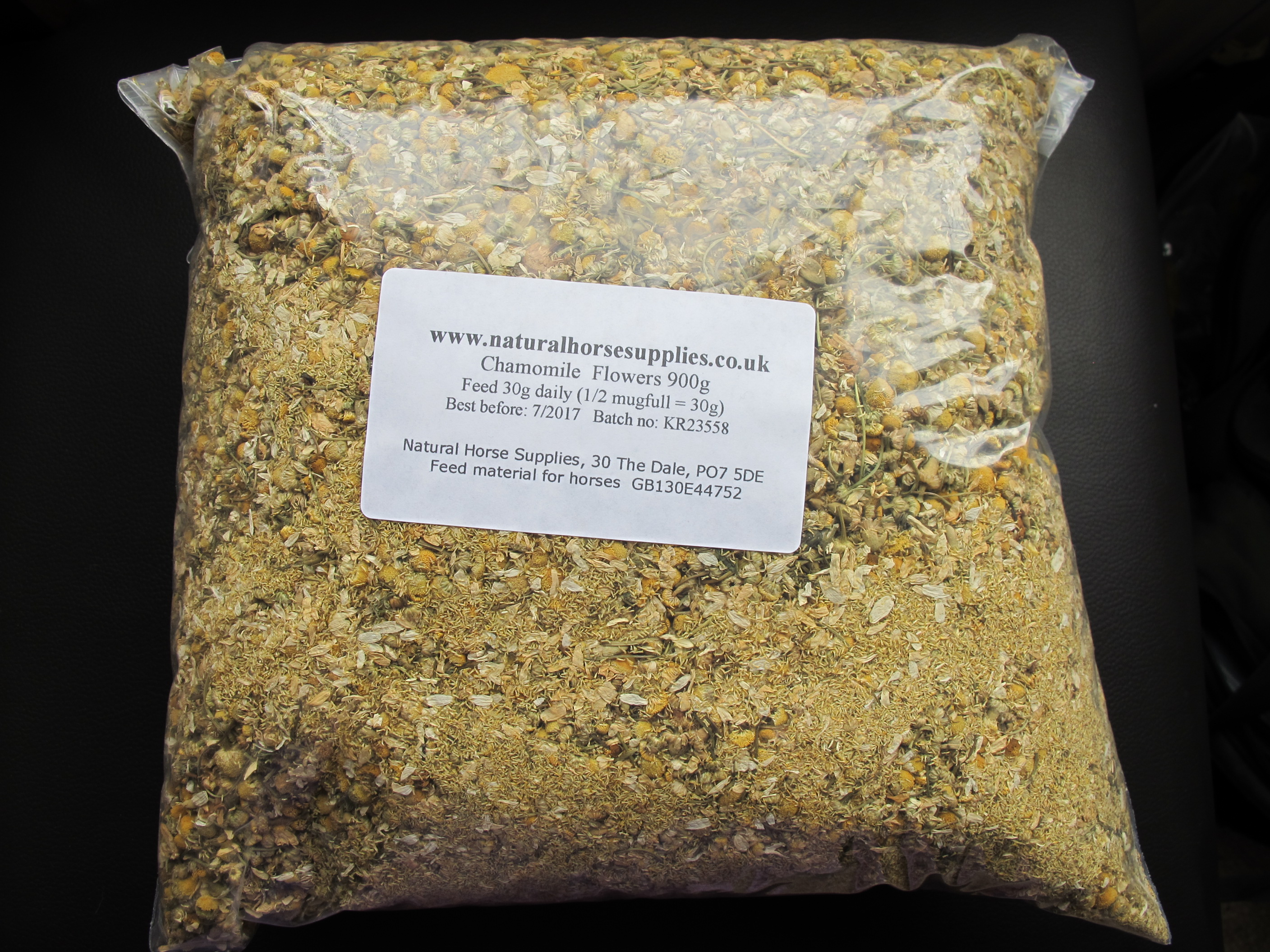 Chamomile flowers 900g