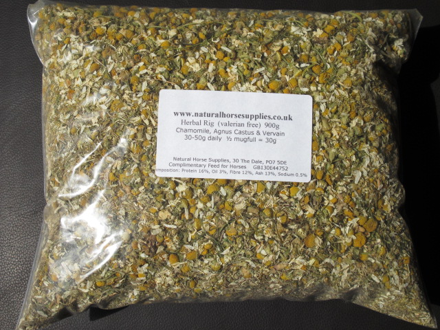Herbal Rig (valerian free)  900g